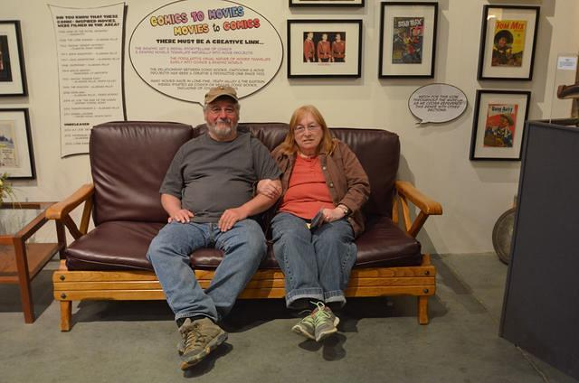 Curtis and Jane resting!